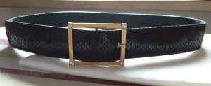 Cinturón pélvico color oro-marrón oscuro
