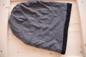 Beanie grey-black