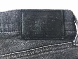 Dunkelgraue Ralph Lauren Jeans in used Optik