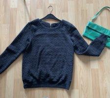 Dunkelgrauer Pullover von GAP, Größe 38