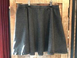 Skaterska spódnica ciemnoszary-antracyt