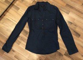 Dunkelgrüne Bluse von Amisu