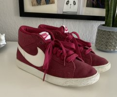 Dunkelpinke NIKE High top Sneaker