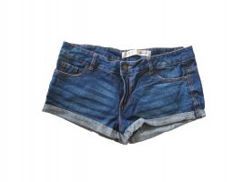 dunkle Jeans Shorts