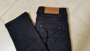 Outfitters nation Jeans bootcut bleu foncé-noir