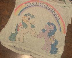 Durchsichtes my Little Pony Shirt von H&M