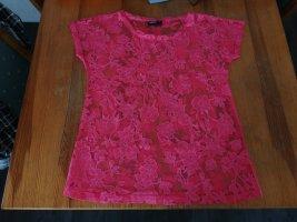 durchsichtiges Blumen-Shirt