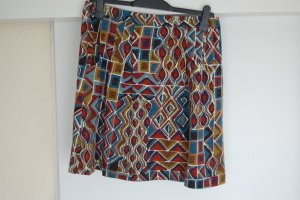 Knitted Skirt multicolored wool (merino wool)
