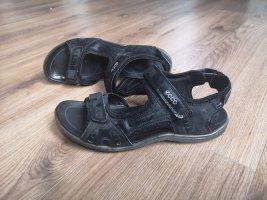 Ecco Romeinse sandalen zwart