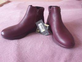 Ecco Stiefel, Leder, Größe 37, Farbe Wein. Neu, noch nicht getragen.