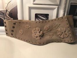 Leather Belt beige