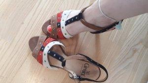 Caprice Sandalo con cinturino e tacco alto multicolore