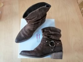 5th Avenue Buskins brown leather