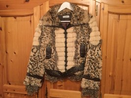 bebe Pelt Jacket multicolored pelt