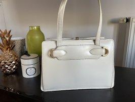 Echte Vintage Lederhandtasche