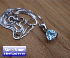 Echter Silber Anhänger inkl. Silber Kette (NEU)
