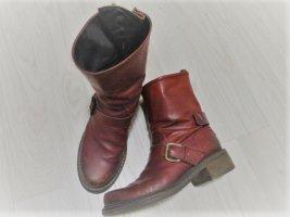 Echtleder Boots/Stifeletten