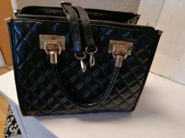Echtleder gesteppte Handtasche