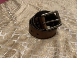 Fossil Leather Belt cognac-coloured leather