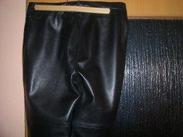 Mauritius Pantalón de cuero negro Cuero