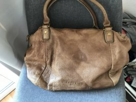 Liebeskind Berlin Carry Bag light brown leather