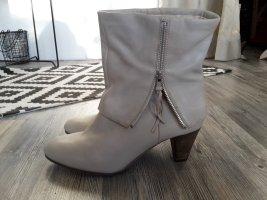 SPM Shoes & Boots Bottines plissées multicolore cuir