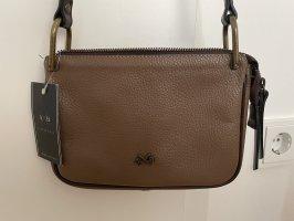 Bellucci Crossbody bag light brown-black brown
