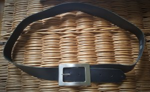 b.p.c. Bonprix Collection Leather Belt black leather