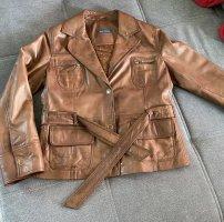 Adagio Leather Jacket multicolored
