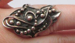 Echtschmuck Silberring gestempelt Punze 925