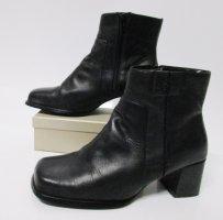 Eckig Kurz Stiefel Stiefeletten Hush Puppies Größe 41 Schwarz Ankle Boots Klassisch Derb Schuhe