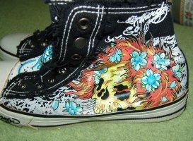 Ed Hardy Instapsneakers veelkleurig Katoen