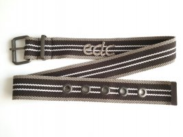 edc by Esprit Canvas riem veelkleurig