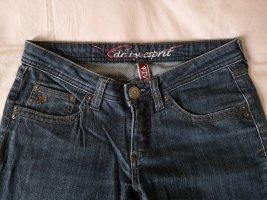 edc by Esprit Jeansy z prostymi nogawkami niebieski-ciemnoniebieski