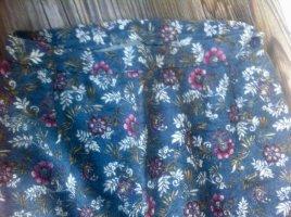 Jupe longue multicolore laine