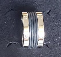 Edel-Stahl Ring Gr. 20