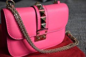 Edele Handtasche von Valentino - Glam Lock Mini Rockstud - 100% Original