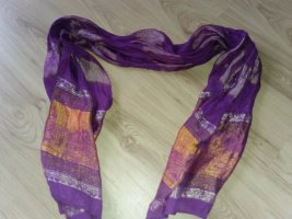 Cambodia Silk Zijden sjaal veelkleurig Zijde