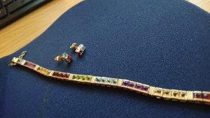 Armband veelkleurig Metaal