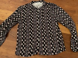 Edited Stand-Up Collar Blouse multicolored