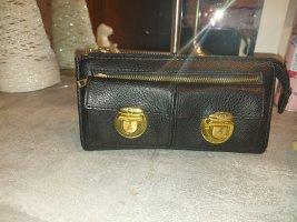 Portemonnee zwart-goud