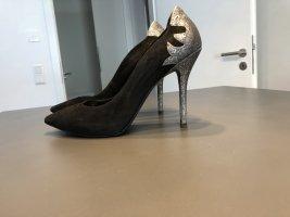 Guess High Heels black suede