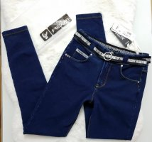 Freddy Jeans taille haute bleu-bleu foncé