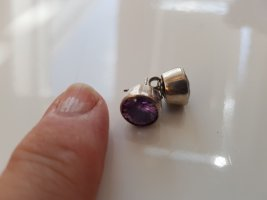 no name Ear stud silver-colored-lilac