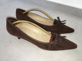 Bruno Magli Stiletto brun-brun foncé cuir