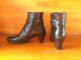 Edle schwarze Leder Stiefeletten/ Ankle Boot von Lady Excellent, 37
