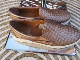 Slippers rose-gold-coloured
