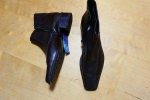 Sally O'Hara Buty zimowe czarno-brązowy Skóra