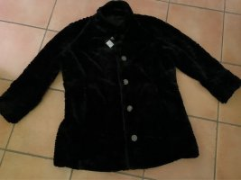Alfredo Pauly Fake Fur Jacket black