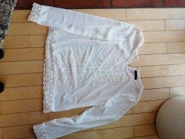 Edle weiße Bluse von Vila